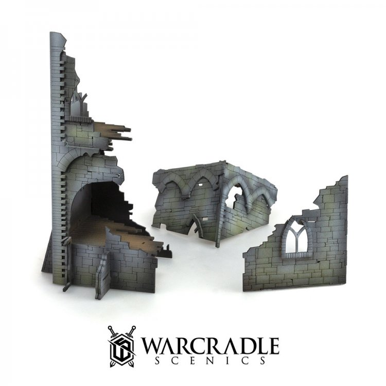Ruined Tower - Tabletop Terrain