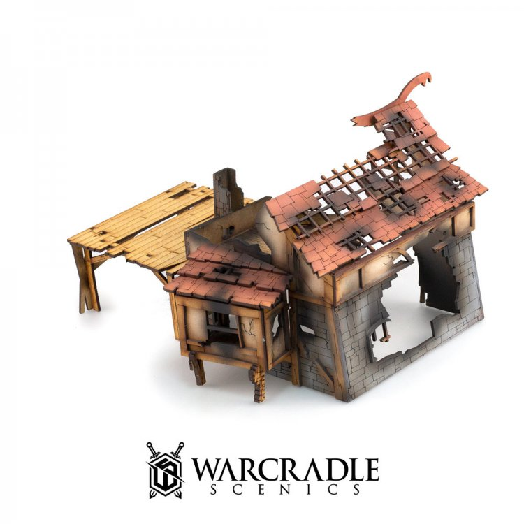 Ruined Blacksmith - Tabletop Terrain