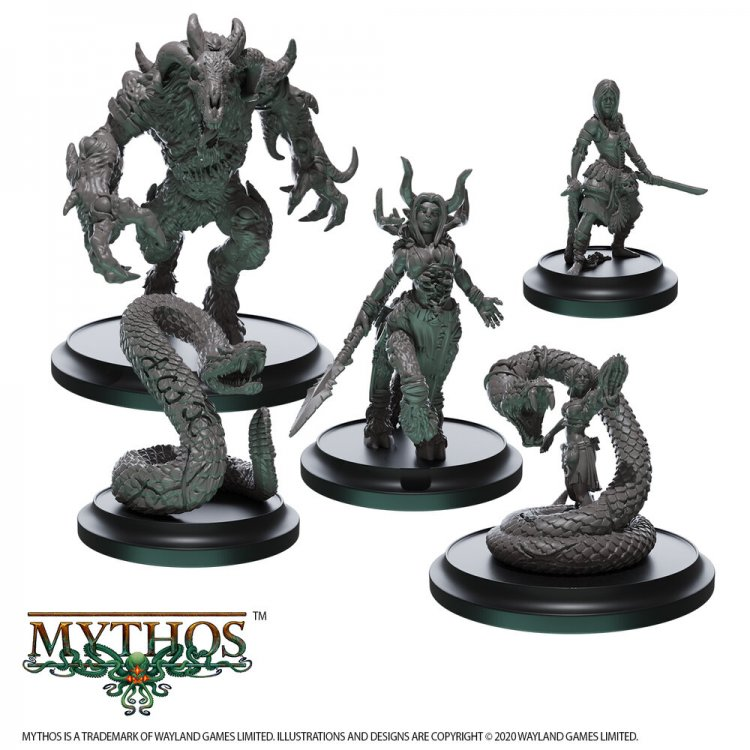 Mythos Miniatures - Wyldborne Faction Set