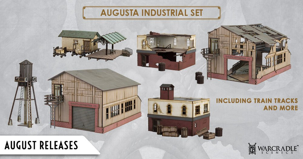 July Pre-Orders August Releases - Scenics