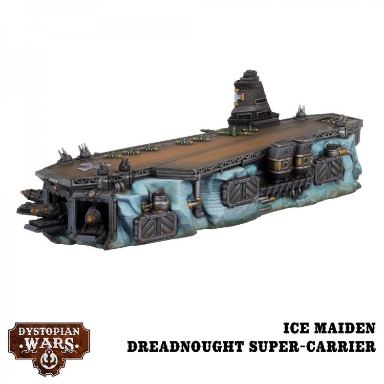 Ice Maiden Dreadnought Super-carrier