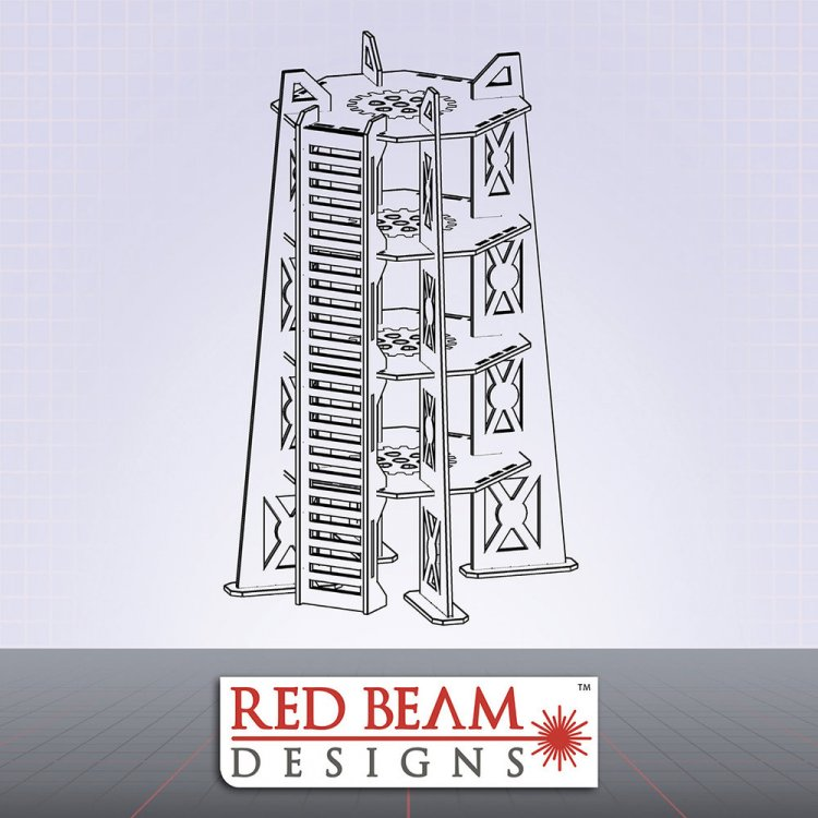 Complex Red - 4 Storey Tower
