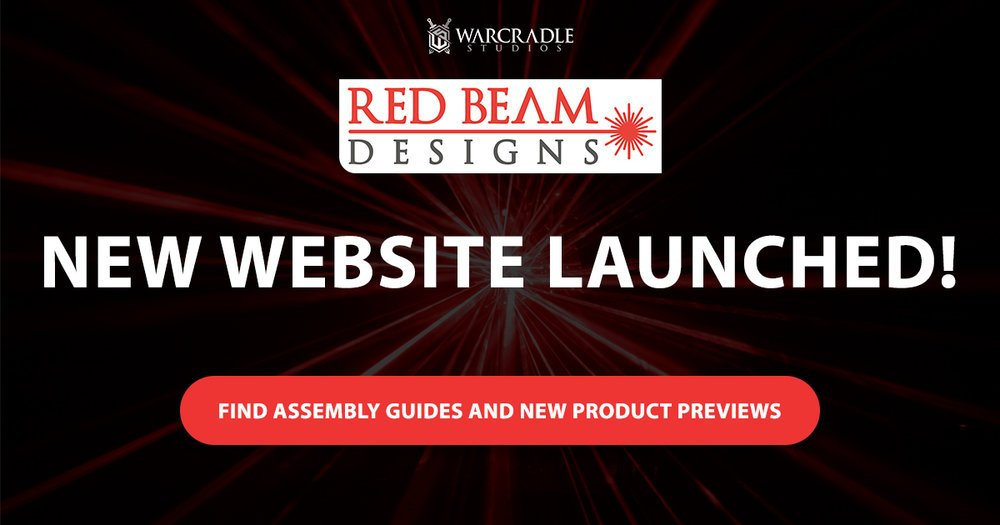 new red beam designs website with assembly guides