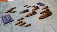The green Prussian Empire fleet
