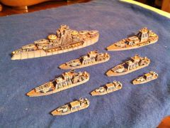 Stephan's Prussian Fleet