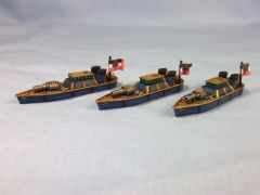 PE Frigates close Up