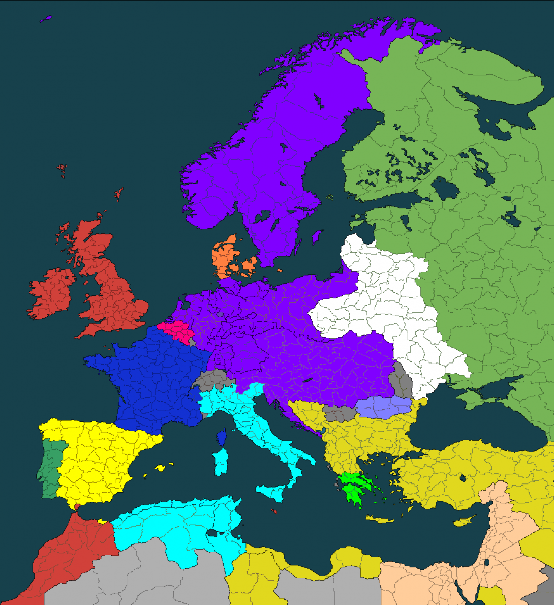 Map Of Europe With Provinces.Dw Europe Map 1871 Provinces 0 2 Beta General Warcradle Community