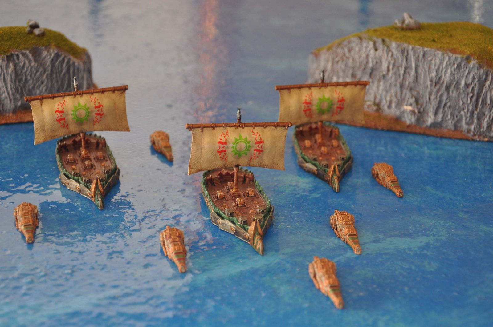 Orc Cruisers and Frigates