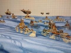 the Tiksi lead the fleet out
