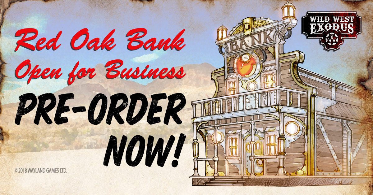 APRIL PRE-ORDERS: RED OAK BANK & UNION BASE TOPPERS!