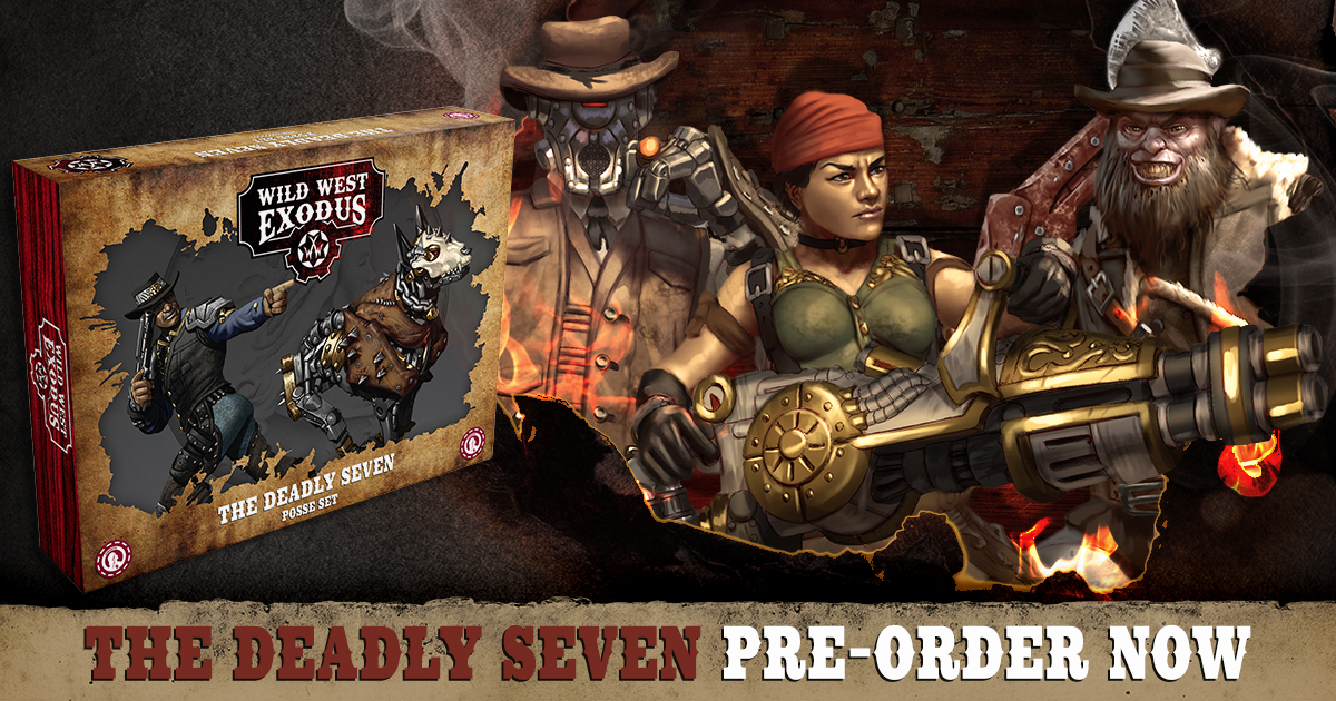 Salute Pre-Orders: The Deadly Seven