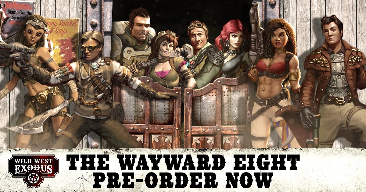 May Pre-Orders: The Wayward Eight & Hex Beasts