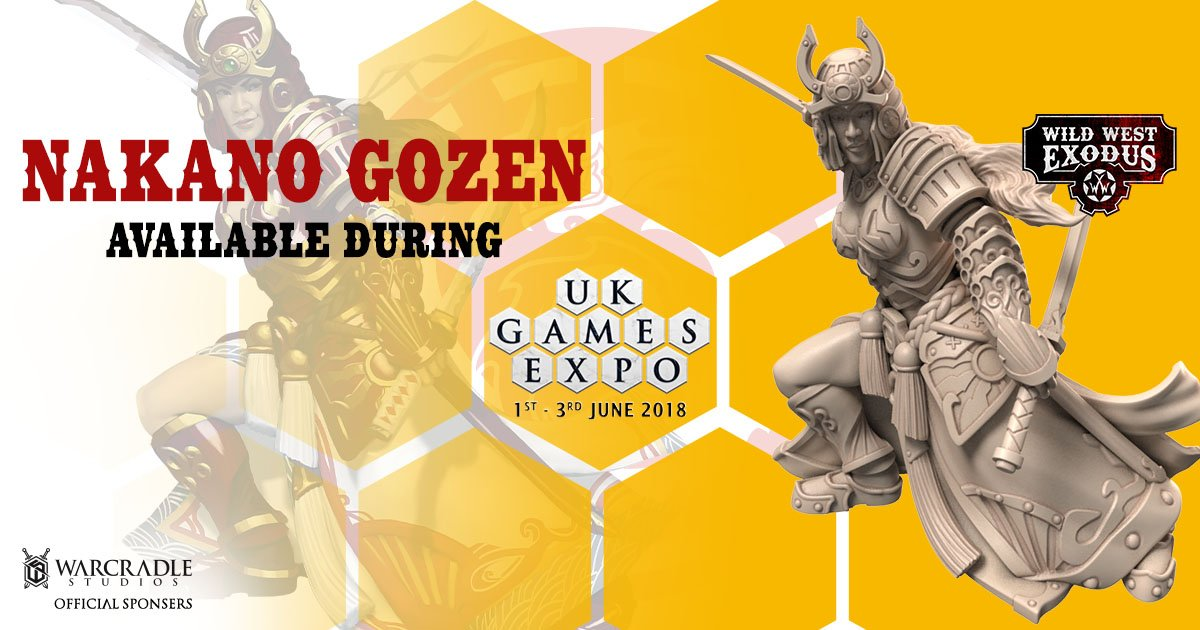 Nakano Gozen at UK Games Expo!