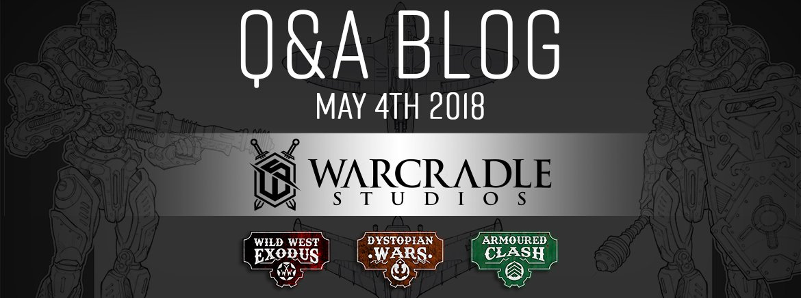 May 4th 2018 Q&A: Blog & Video