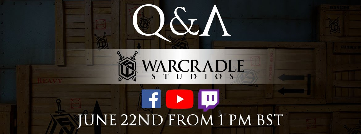 New Q&A Announced: June 22nd!