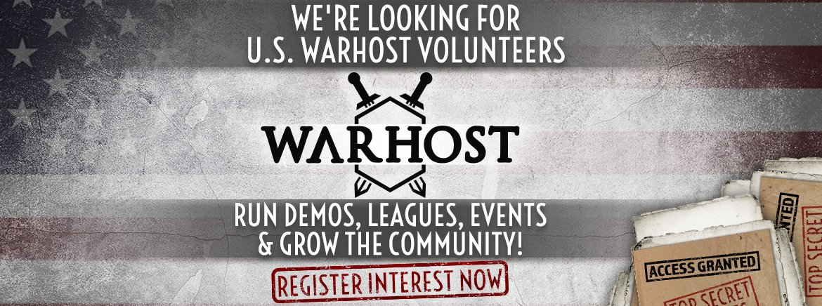 The Warhost Programme - Volunteer Now!