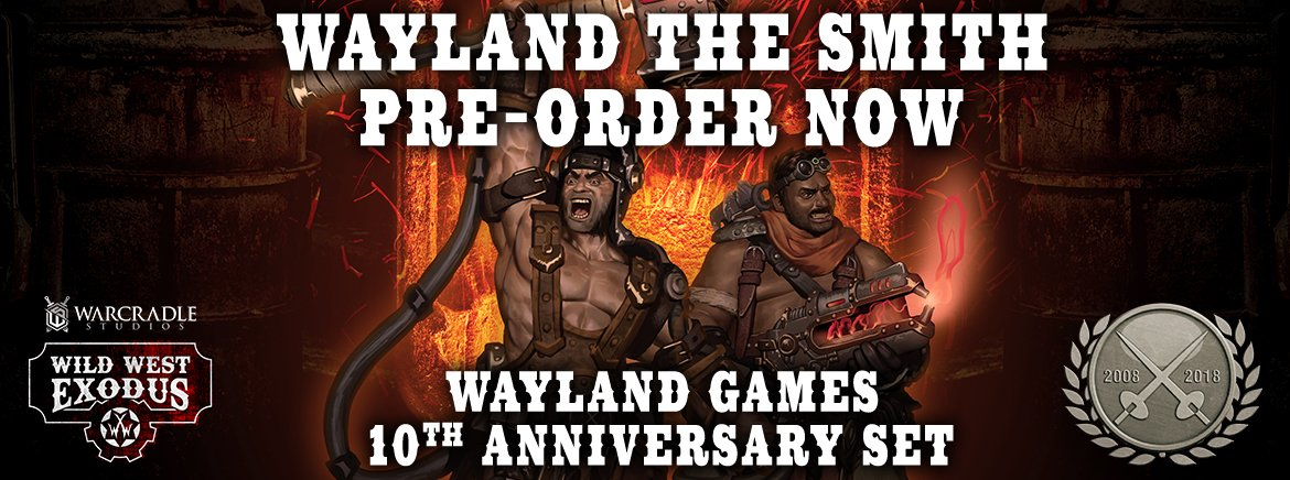 Wayland The Smith 10th Anniversary Set