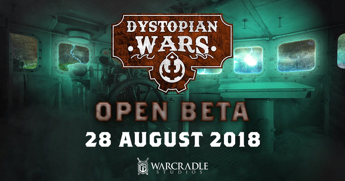 Open Beta for the Third Edition of Dystopian Wars is near...