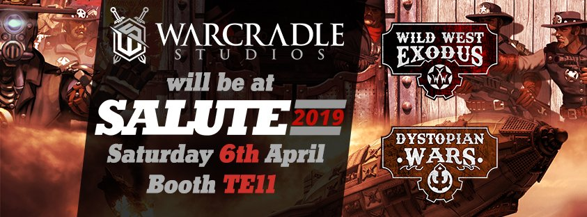 Warcradle Studios at Salute 2019