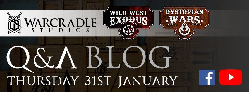 January 2019 Warcradle Q&A - Video and Blog