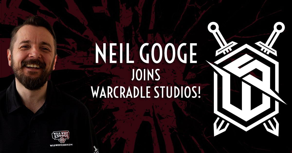 Neil Googe Joins Warcradle Studios!