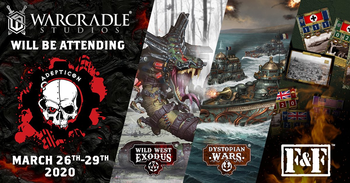 Warcradle Studios at AdeptiCon 2020