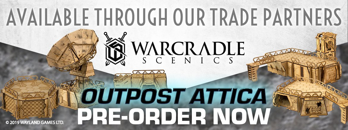 Warcradle Scenics: October Pre-Orders