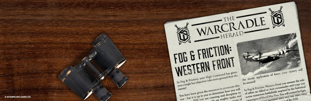 Available To Buy - Fog & Friction: Western Front