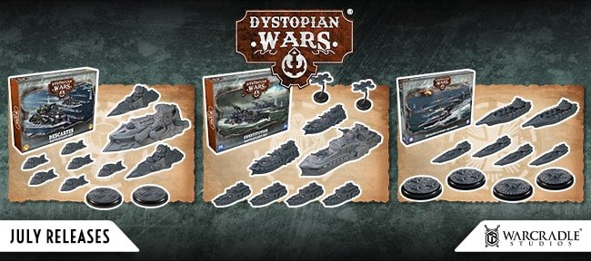 July Releases: The Americans Have Arrived as The Union Enters Dystopian Wars