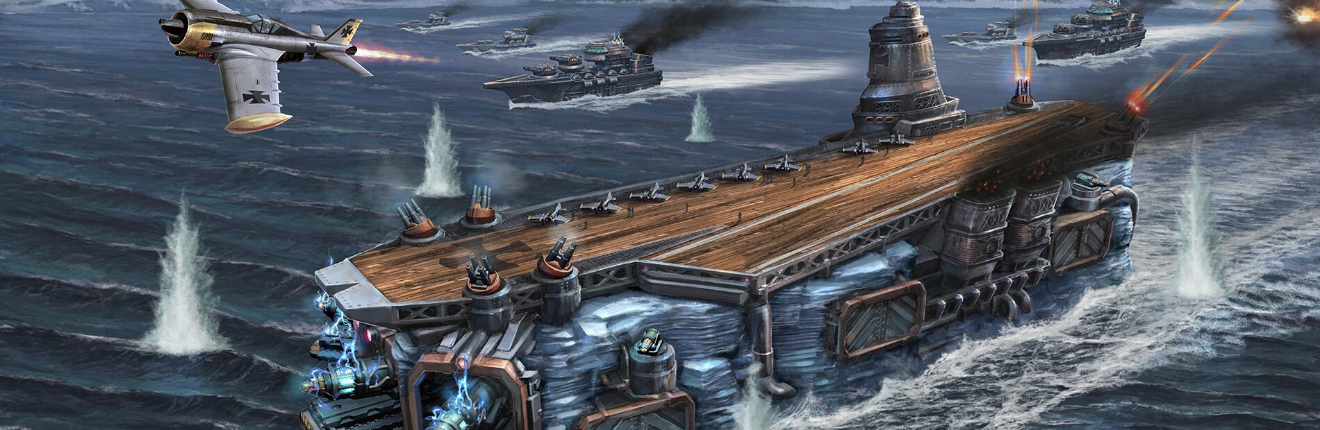 Warcradle Studios Launches Ice Maiden Battlefleet Set for the Third Edition of Dystopian Wars