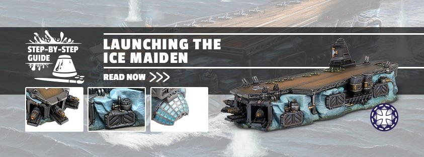 Step-by-Step: Launching the Ice Maiden!